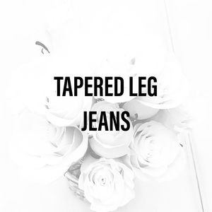 Vintage Jeans - TAPERED LEG JEANS